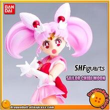 """Pretty Guardian Sailor Moon"" Original BANDAI Tamashii Nations SHF/ S.H.Figuarts Action Figure   Sailor Chibi Moon"