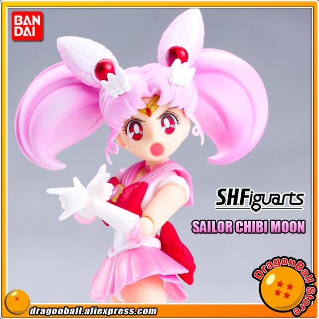 Оригинальная фигурка «Pretty Guardian Sailor Moon», бандаи тамаши нациями, SHF/ S.H.Figuarts Sailor Chibi Moon