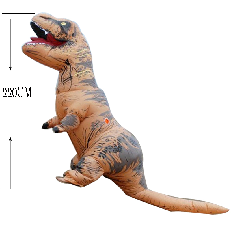 Image 5 - T rex dinosaure inflatable costume deguisement halloween pour animaux cosplay mascot costume dinosaure-in Mascot from Novelty & Special Use