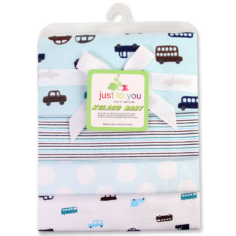 Summitkids 4Pcs / Pack 100% kapas supersoft flannel menerima bayi blanket baby bedsheet 76 * 76CM baby blankets newborn
