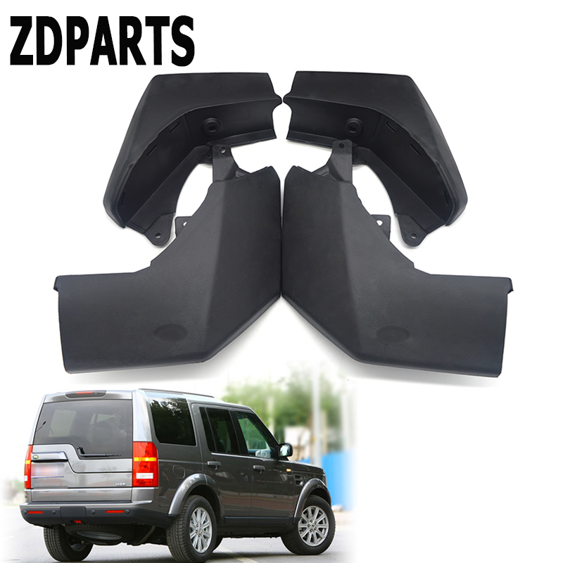 ZDPARTS Car Front Rear Mudguards For Land Rover Discovery 3 2004 2005 2006 2007 2008 Styling