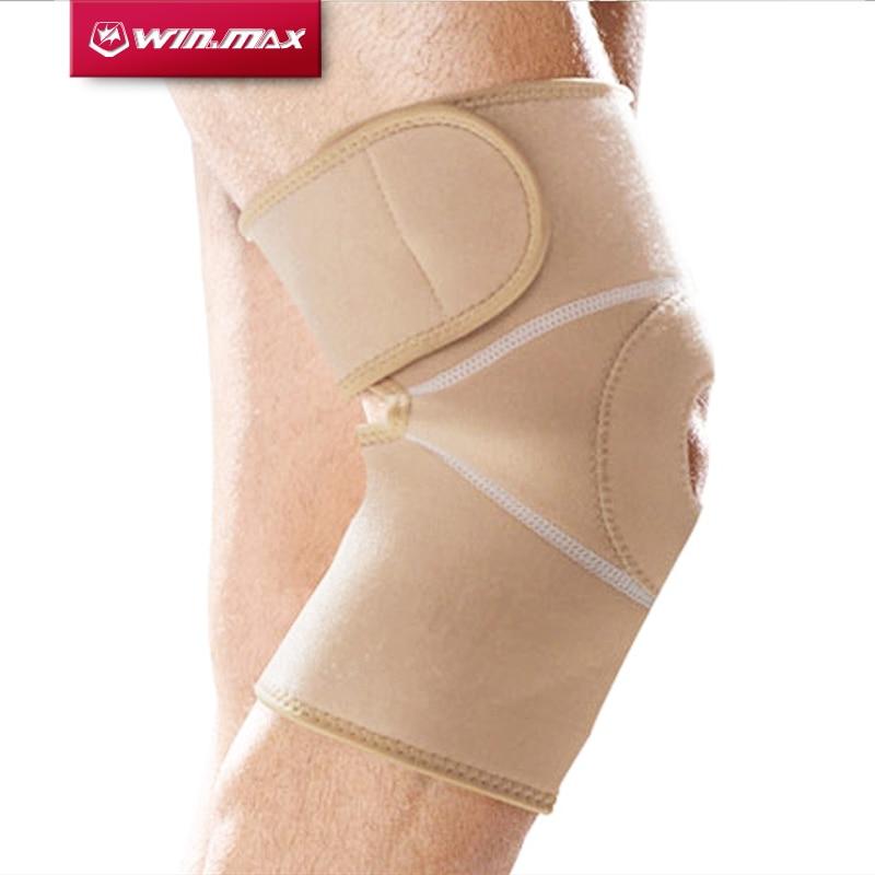 Prix pour Winmax Professionnel Bracelet Brace Pad Protecteur Badminton Basket-Ball de Course breathableknee orthopédique support genou