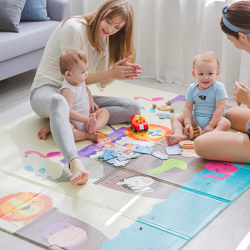 Special Discount Play Floor Odorless Playing Infant XPE Foam Cartoon Thickened 180*150*0.8cm Toddler Crawling Mat