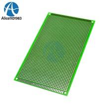 Carte PCB Double face en papier, Kit de bricolage électronique, 9x15cm, 9x15CM, 9x15cm, 9x15CM, 1.6mm, bricolage cher