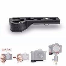 Meike MK X1EM โลหะ Bracket Hand Grip สำหรับ Sony GP X1EM A9 A7MIII a7RIII a7RII a7II a7SII กล้อง