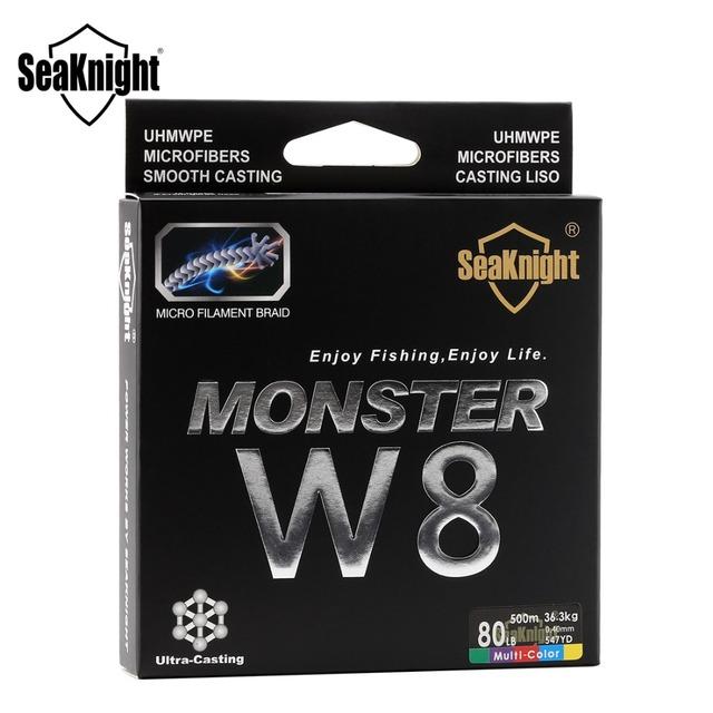 SeaKnight W8 8 Strands Multi Color 500M