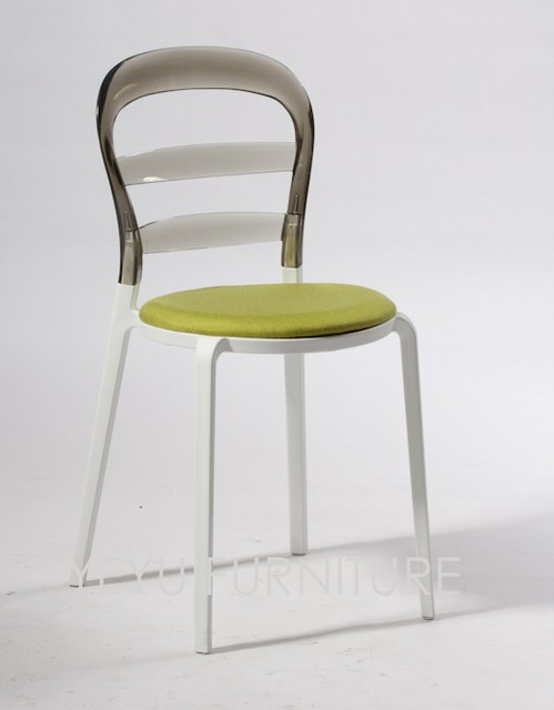minimalista moderno diseo de plstico cubierta colorida silla de comedor muebles de comedor de wien
