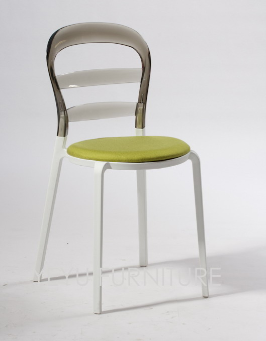 Sedie Di Plastica Colorate.Moderno E Minimalista Disegno Di Plastica Trasparente Colorato