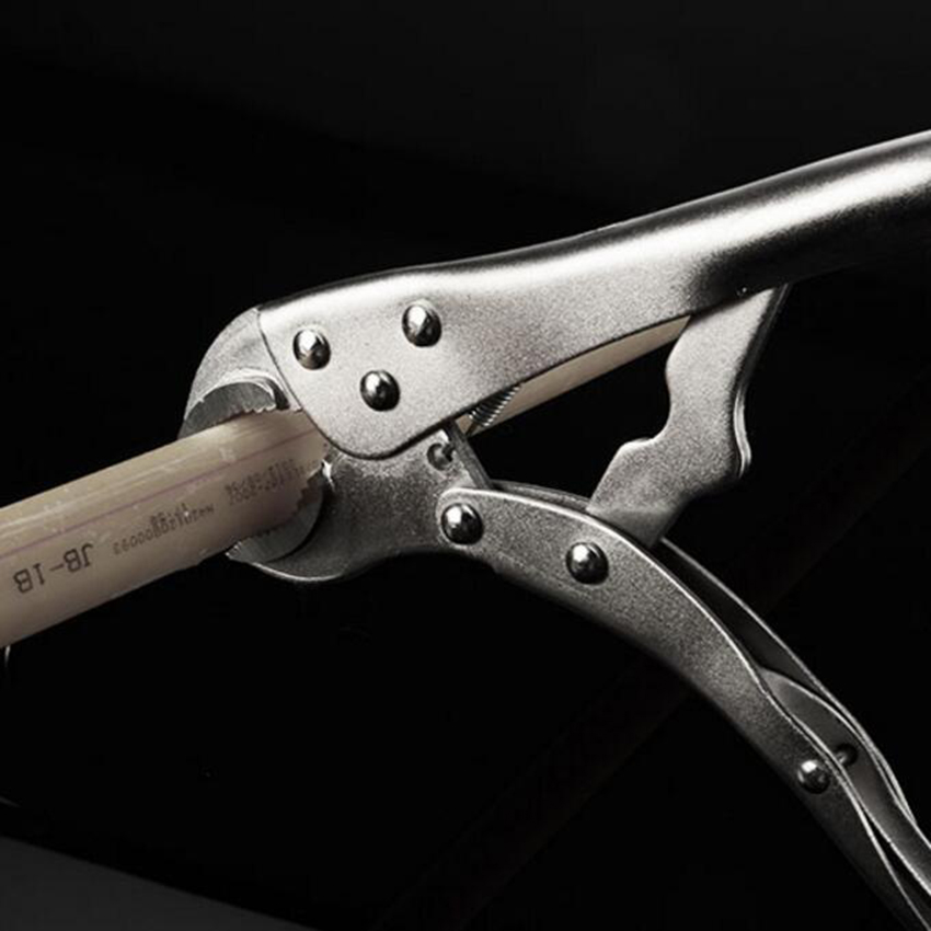 Купить с кэшбэком 5/7/10 Inch Vigorously Flat Pliers Hand Tools with Smooth Handle and Round Clamp Mouth Fast Fixing Clamp
