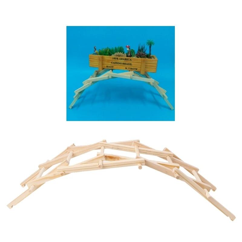 Da Vinci Jembatan Pathfinders Konstruksi Kayu Model Kit Bangunan Blok Anak Anak Mainan W15 Building Blocks Blocks Kidskids Block Toys Aliexpress