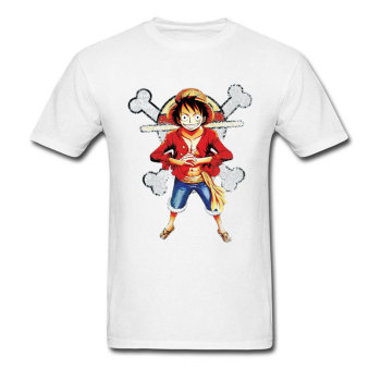 Brand One Piece T-shirt Men Straw Hat Skull Logo Tshirt Nami Sexy 3D Print Tops Japan Anime Luffy T Shirt Cool Zoro Designer Tee 1