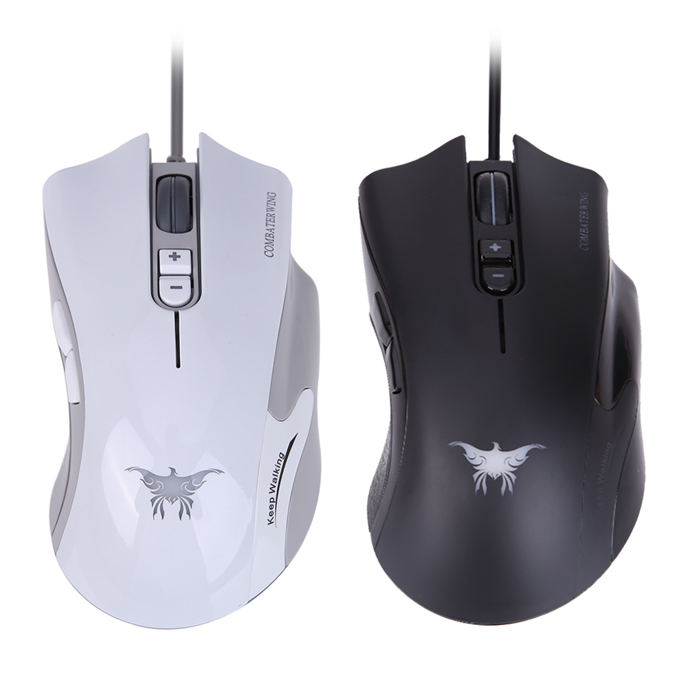 Hp G200 White Black Wired Optical Usb Gaming Mouse 4000 Dpi 6 Button M100 European Ergonomic Design Mice 8g 3800dpi
