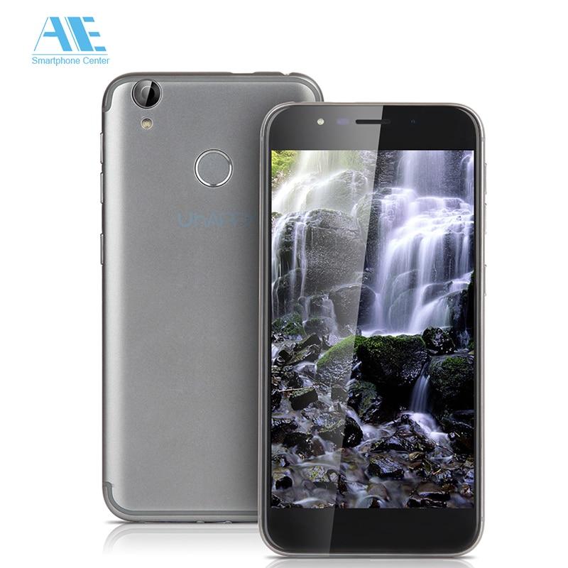 Original UHAPPY UP720 Fingerprint 4G 13.0MP MT6737 Quad Core Android 6.0 2GB RAM 16GB ROM Smartphone 1280x720 5.0 Inch Cellphone