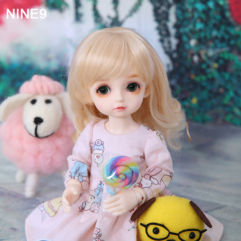 New Arrival OUENEIFS Nine-9 Pio BJD SD Doll 1/6 YoSD Body Model Children Resin Toy High Quality Mini Gifts Fashion Shop Luodoll