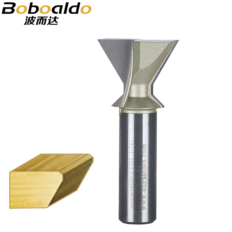 1pcs 1/2 Shank Woodworking Tool Chamfer Bit 60 Degrees Arden Router Bit Dovetail Bits For Leigh End Mill end mill tool insert arden router bit tungsten cleaning bottom end milling cutter 1 2 50mm 15mm 1 2 shank arden a0117478