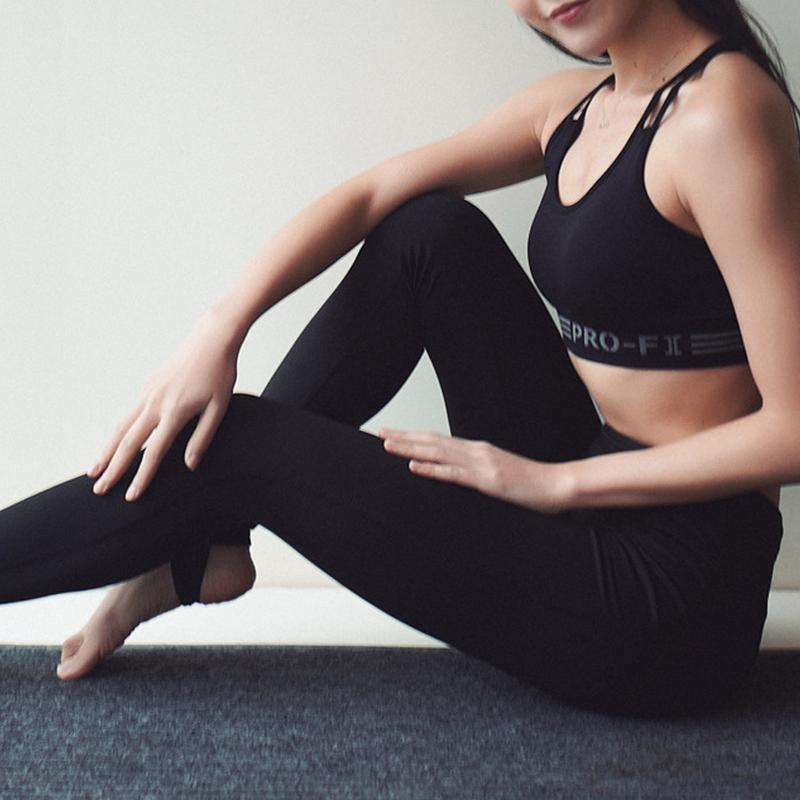 Aliexpress.com : Buy Sports Yoga Nine Pants Steps Slim Fit