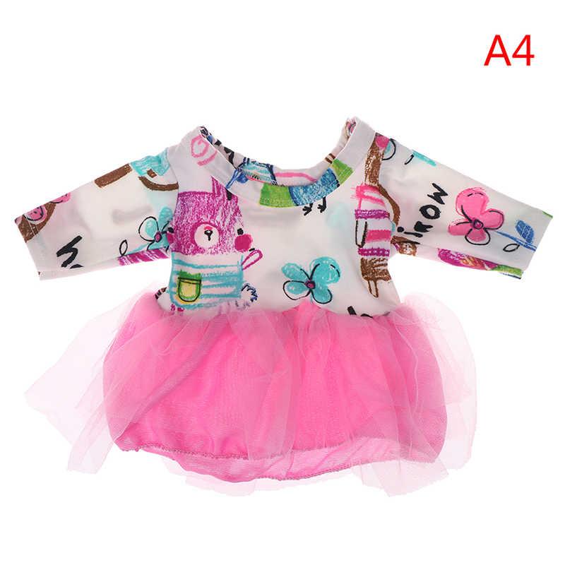 Mới Sinh Ra Con Búp Bê Phù Hợp Với Váy cho 18 inch Quần Áo Búp Bê Cho các Cô Gái Trẻ Em Tốt Nhất Món Quà Sinh Nhật