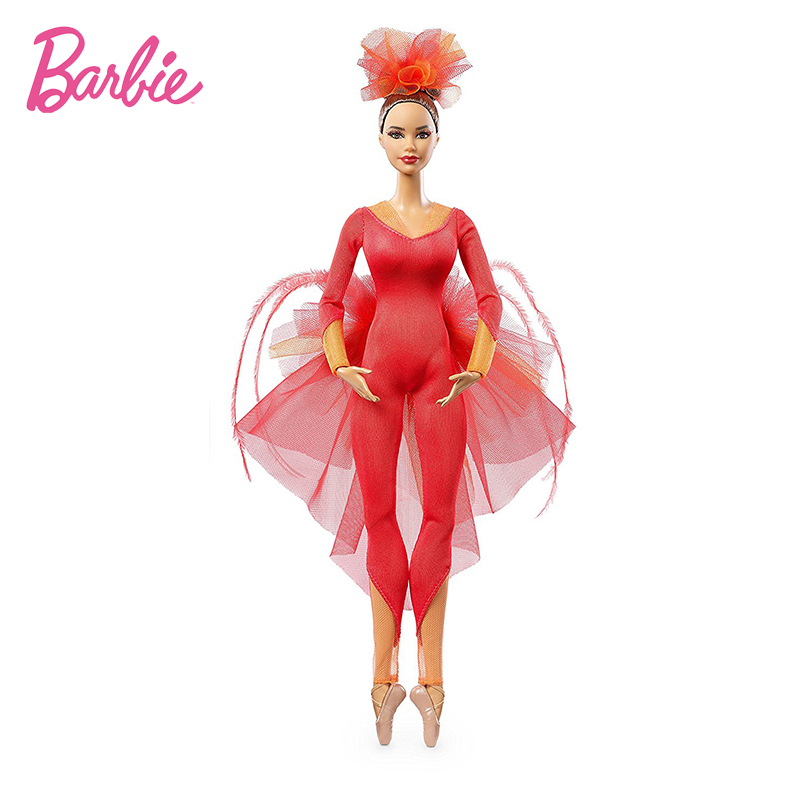Barbie Original Doll Pink Label Actionr Misty Copeland ColletorToy Girl Birthday Present Girl Toys Gift Boneca DGW41 in Dolls from Toys Hobbies