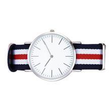 5 couleur bandes argent cas deux mouvement casual bonne qualité montres Heures hommes et femmes