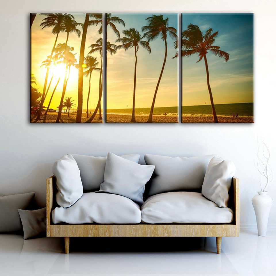 Modular Pictures Home Decor Wall Art For Living Room HD Printed 3 ...