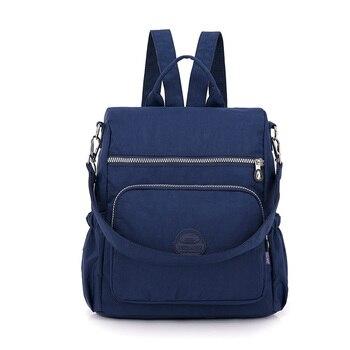 패션 여성 나일론 배낭 schoolbag 10 대 소녀 배낭 여행 어깨 가방 satchel 학교 가방 디자이너 고품질