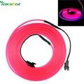 3 M Luces De Navidad Al Aire Libre LLEVÓ la CA 12 V Flexible EL Cable de luz Tubo de la Cuerda Controlador de Brillo de La Boda decoraciones para el Hogar IP67 a prueba de agua