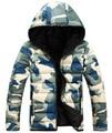Down jacket 2016 NEW Sale Camouflage Jackets Designer Brand Fashion Winter Jacket Men Camo Snow Long Casual Coats Jacket FD886