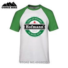 58287dda9e Funny Oversized Casual T-shirt Unique Adults Hofmann LSD Beer Label T Shirt  Short Sleeve Top Tees Stretchy Organic Cotton Tshirt