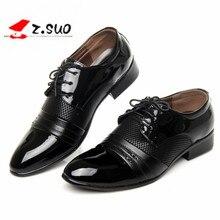 classical men dress flat shoes luxury men's business oxfords casual shoe black / brown leather derby shoes