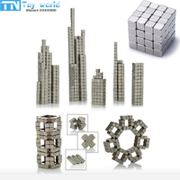 Hot Sale 216pcs Neodymium Magic Cube Magnetic Cube Balls 4mm 5mm Funny Puzzle Toys For Children