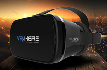 2016 Hot Sale VR BOX 3D Cinema VR Virtual Reality for Personal Mini Movie Theatre for All3.5-6.0 inchs Smart Phone