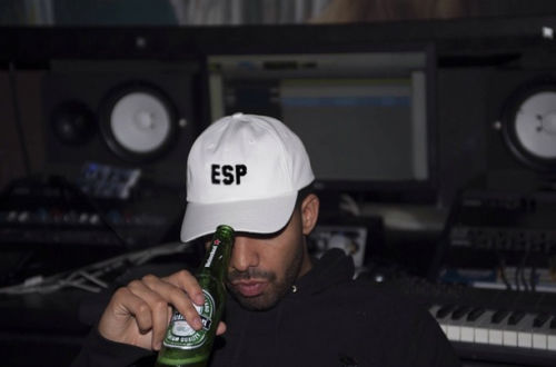 8fa86ba2062 Free Shipping Drake 6 Panel Supremes ESP Hat White Color IN HAND DRAKE  ADRIANNE HO Rare Palace Cap