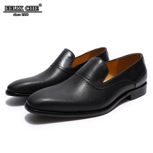 Mens Breathable Flat Loafer Genuine Leather Brown Black Slip On Comfortable Dress Shoes Casual Wedding Party Male