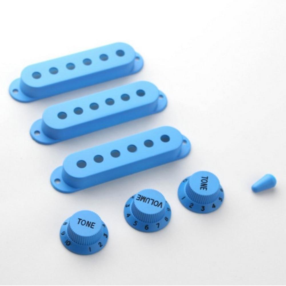 Accesorios Para Instrumentos musicales 7 Unids Conjunto ST Guitarra Eléctrica Pi