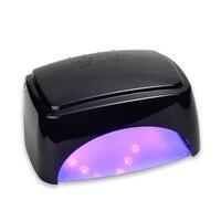Профессиональный 60 Вт ногтей сушилка CCFL + Светодиодный УФ лампы для сушки лака для ногтей гель с авто индукции светодиодный для маникюр Сало