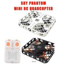 EBOYU(TM) 2.4GHz 4CH 6-axis SKY PHANTOM with Gyro / 3D Roll / Speed Switch / LED Light / Protective Frame Mini RC Quadcopter RTF