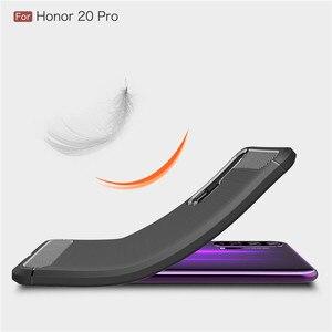 Image 4 - Voor Huawei Honor 20 Pro Case Armor Beschermende Zachte TPU Siliconen Telefoon Case Voor Huawei Honor 20 Pro Back Cover voor Honor 20 Pro