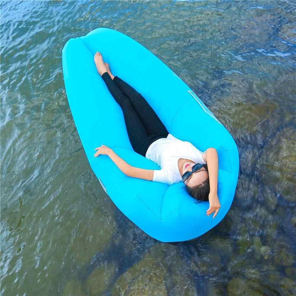 Espreguiçadeira Sofá Preguiçoso Cama de Ar inflável para Camping Caminhadas Ao Ar Livre