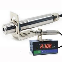 Darmowa wysyłka 0 600 stopni bezdotykowy krótkofalówka na podczerwień termometr z czujnikiem 4 20ma klasy przemysłowej czujnik na podczerwień w Czujniki od Części elektroniczne i zaopatrzenie na