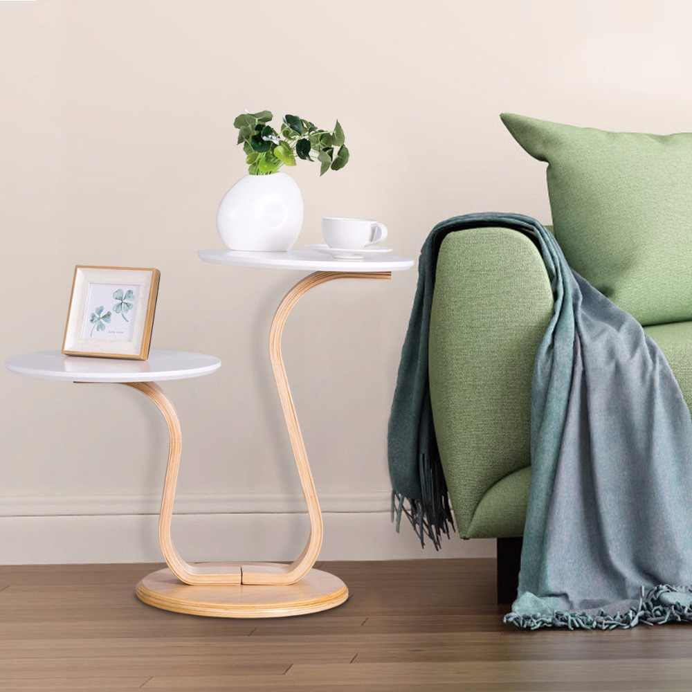 Wondrous Giantex Modern Bentwood End Accent Table Sofa Side Coffee Onthecornerstone Fun Painted Chair Ideas Images Onthecornerstoneorg