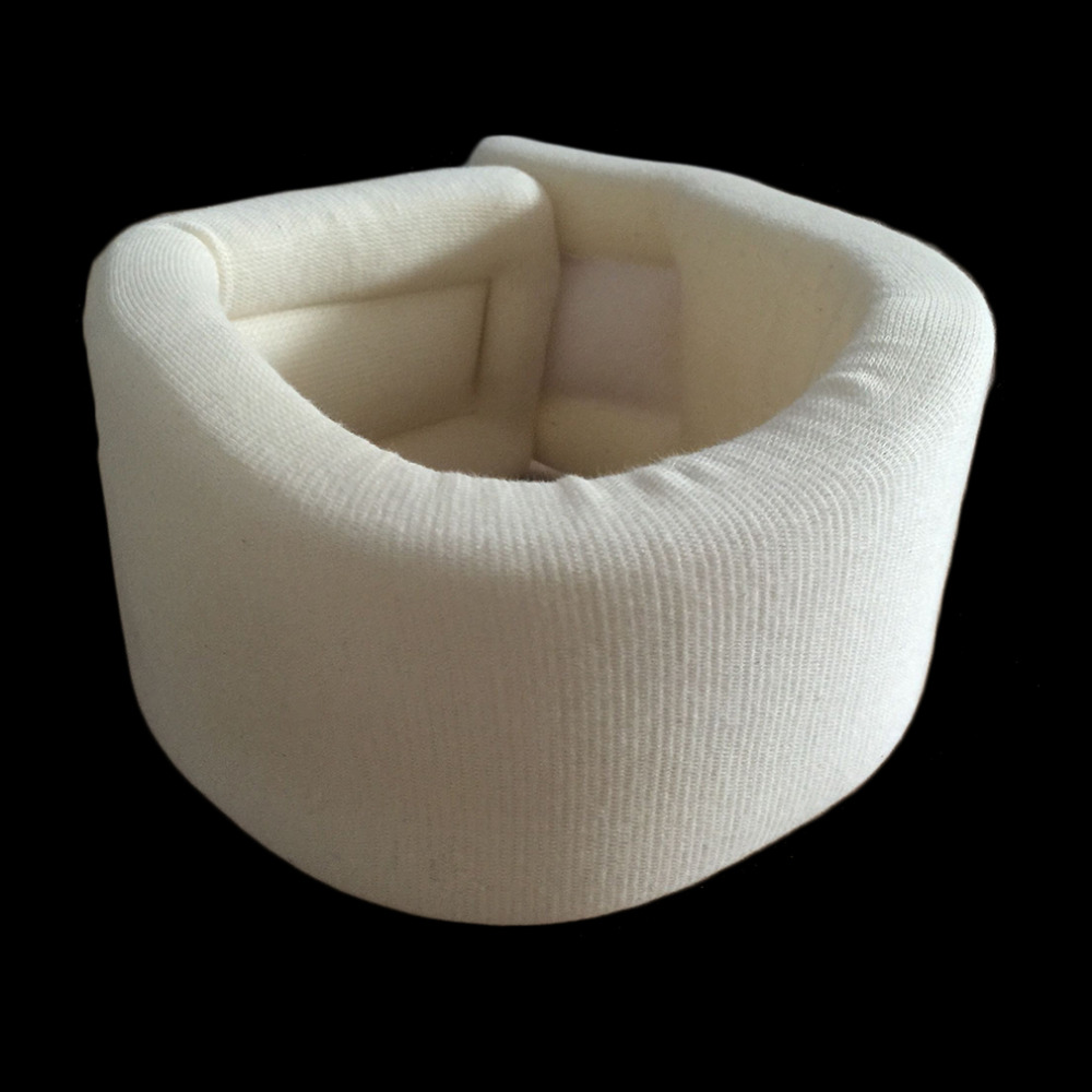 Safety Soft Firm Foam Cervical Collar Neck Brace Support Shoulder Pain Relief White Color drop shipping health care
