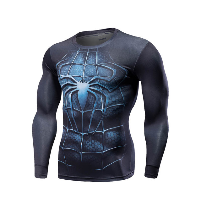 Superhero Marvel Comics Mens Tight T-Shirt