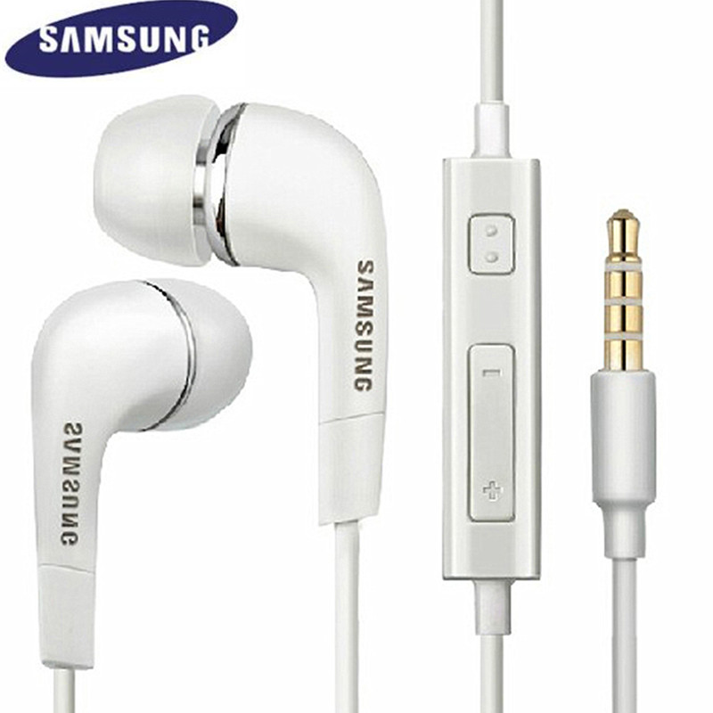 SAMSUNG Earphone EHS64 Headsets with Microphone 3.5mm In-Ear Wired Original Earphone for Samsung Galaxy S3 S6 S8 Edge S9 S9 Plus