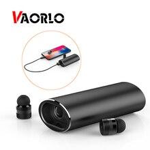 VAORLO Bluetooth наушники TWS беспроводные наушники стерео Музыкальная гарнитура с микрофоном громкой связи зарядная коробка power Bank для телефона