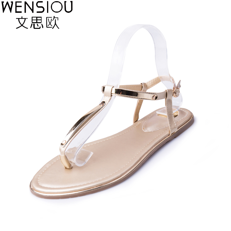 2c8e7fa2ce3dc New Summer Women Sandals Fashion Casual Shoes Flat Sandals Flip Flops Shoes  Footwear Beach Ladies Soft Simple Shoes AST1007-in Women s Sandals from  Shoes on ...