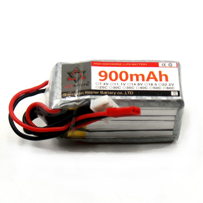 RC <font><b>Lipo</b></font> Battery <font><b>3s</b></font> 11.1v <font><b>900mAh</b></font> Car Plane Boat Lithium Ion Polymer Battery For Truck Tank Drone Helicopter image