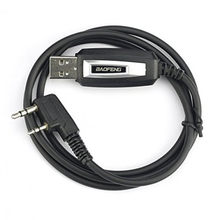 Original BaoFeng Cabo De Programação USB para BAOFENG Walkie Talkie para UV-5R UV-5R/UV-985/UV-3R Cabo de Programação Do USB