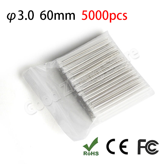 5000pcs Fiber optic fusion splice protection sleeve 60mm,heat shrink sleeve