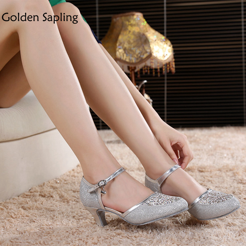 Golden Sapling Women's Dance Shoes Latin Dance Shoes for Ballroom Dancing Women's Sneakers Sport GYM New Rubber Womens Snneakers golden sapling women s sneakers tap dance shoes women ballroom girls tap shoes for dancing woman jazz latin new women s sneakers