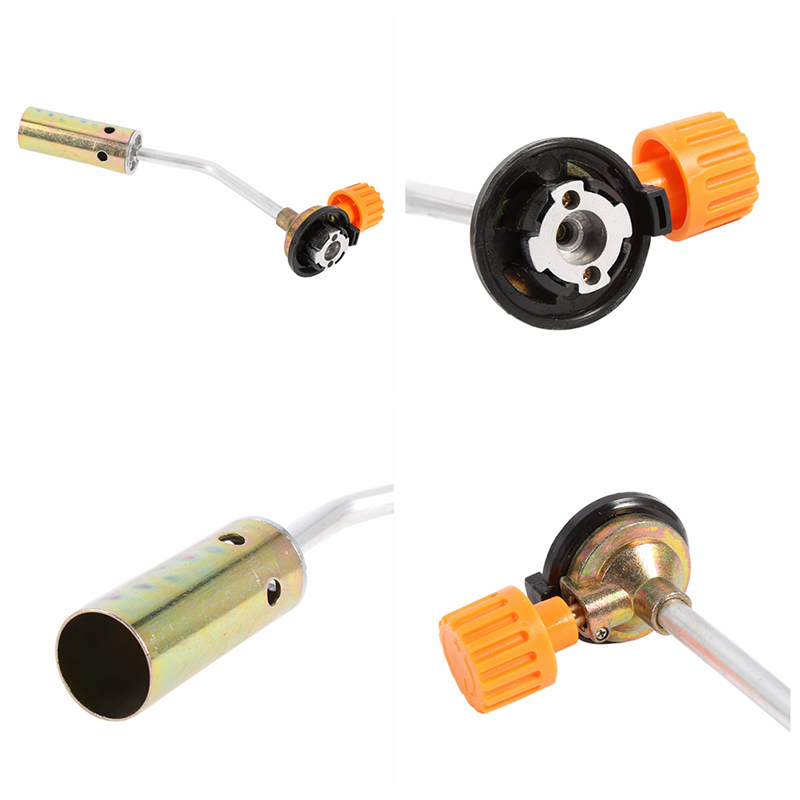 High Quality Butane Burner Welding Outdoor Camping Picnic Bbq Manual Brazing Gas Torch Lighter Flame Gun For Kitchen To Rank First Among Similar Products Outdoor Stoves